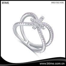Factory supply new arrival low price S925 sterling silver ring