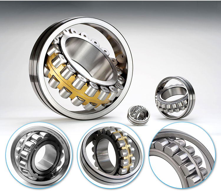 spherical roller bearing steel GCR15 or stainless steel bearing 22244MB bearing