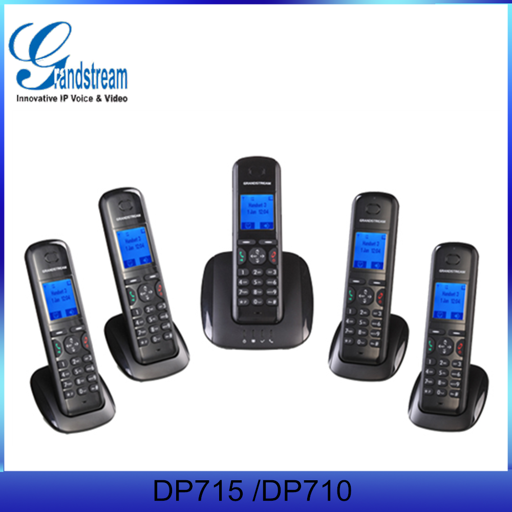 Grandstream DP710 DP715 Cheap Long Distance Cordless IP Phone