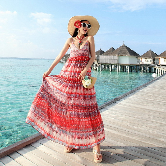 Summer Favourite Grecian Dresses: Free Shipping 2015 Women Casual Dress Summer Greek Style