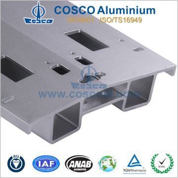 Industrial Aluminium Extrusion Profile with CNC machining
