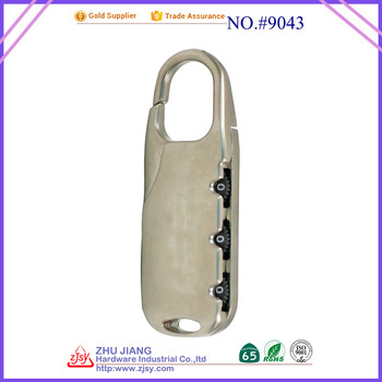 new design 3 digital combination padlock hot sale