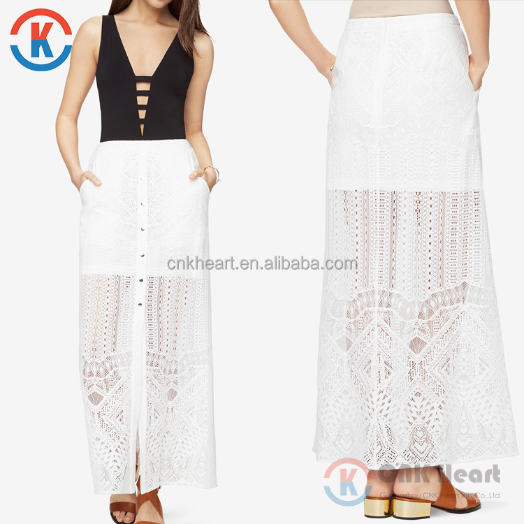 supplier white lace maxi skirt white lace maxi skirt