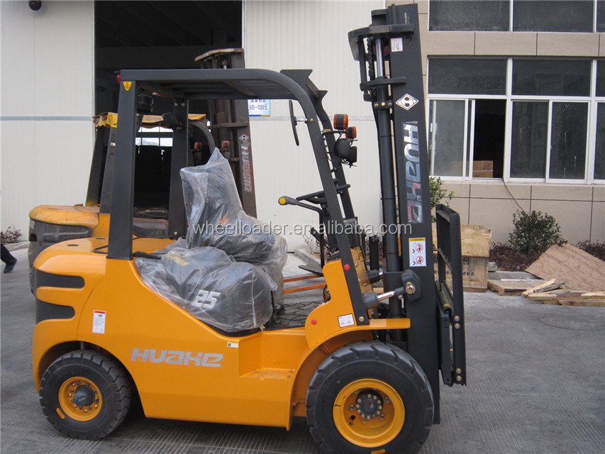 Huahe Automatic Forklift Battery Operated Forklift HEF25 2.5 Ton