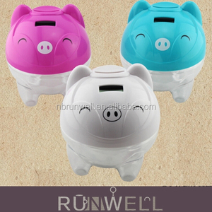 2015 top new design digital coin counting minions piggy bank