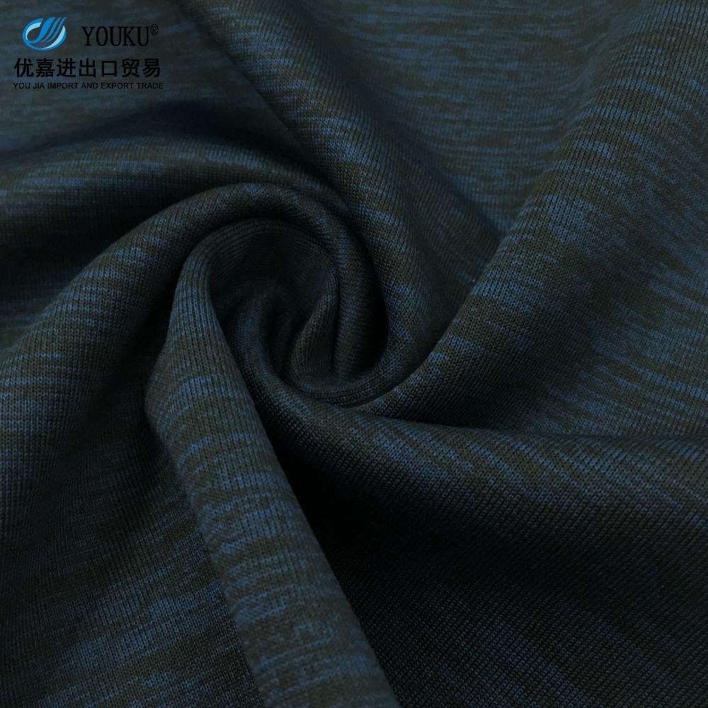 fujian shishi OEM service 100% polyester springy fabric for air layer fabric textile
