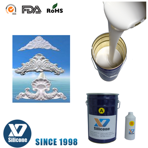 soft Liquid silicone rubber for gypsum crown statues plaster moulding or mold making