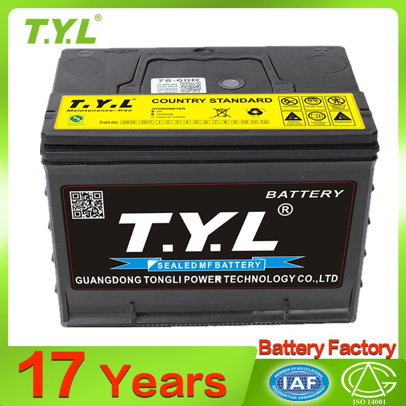Factory wholesale n70 car battery With Good Quality