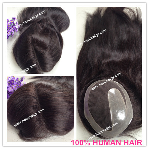 Black Mens Wigs Hairpieces 118