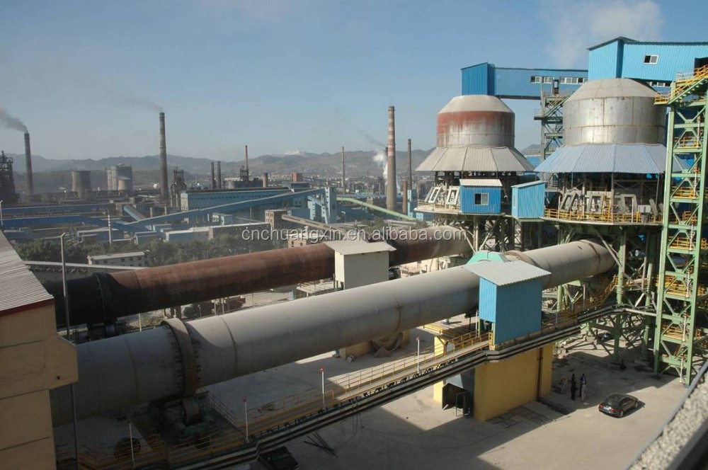 250-500TPD Lime Rotary Kiln , Active Lime Processing Plant for Farg'ona Uzbekistan Projects