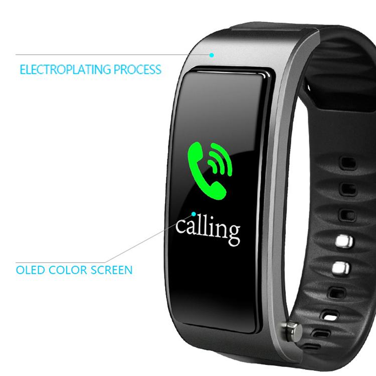big color display wristband