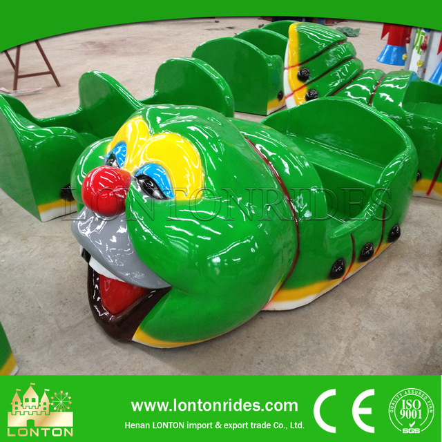 Mini Roller Coaster Caterpillar Rides Amusement Park Equipment for Sale