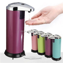 250ml Stainless Steel Hands Free Touchless Automatic Sensor Liquid Soap Dispenser with CE