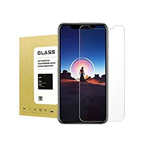 [2 Pack] For iPhone X Tempered Glass Screen Protector [Case Friendly] Halier [9H Hardness][Anti-scratches][Crystal Clear][Bubble Free] 3D Touch Premium Screen Protector for Apple iPhone X/iPhone 10