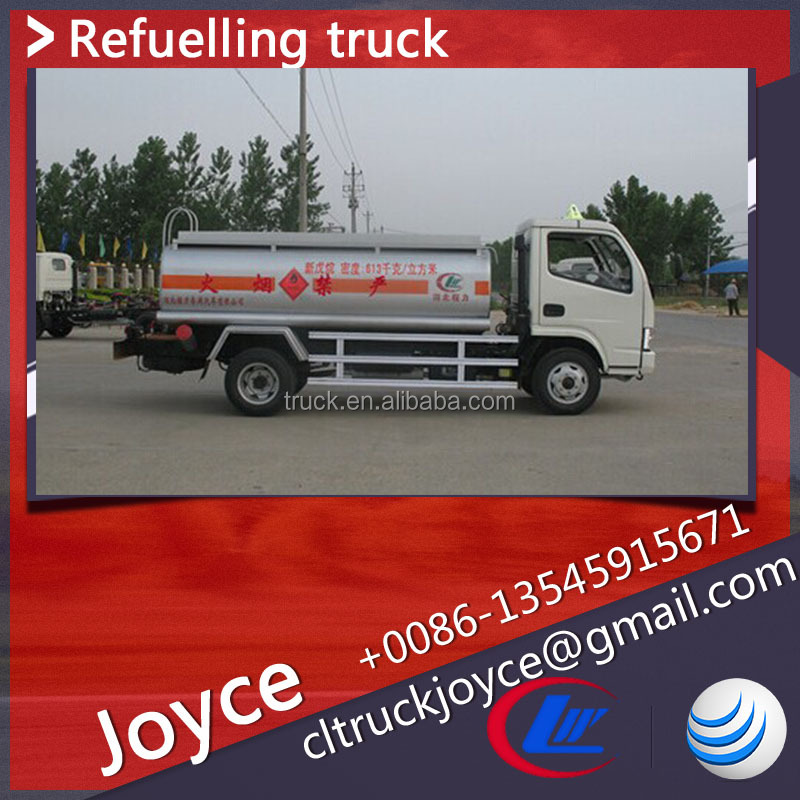 8000 Liters Fuel Tank Truck,Oil Tank Trucks with refueling device,Heavy Fuel Oil Truck Tanker