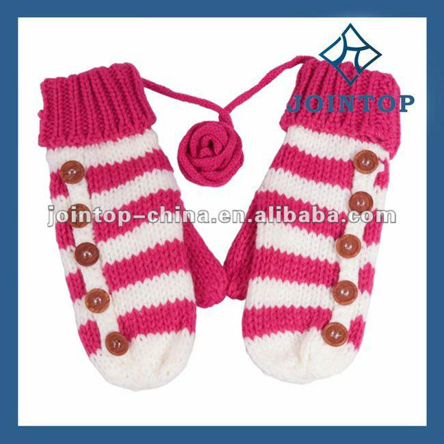 Jointop China Supplier Cotton Knitted Gloves With Pvc Dots