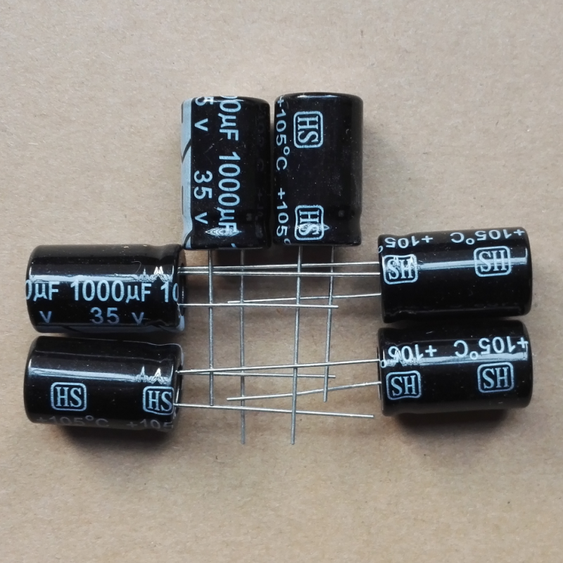 4700uF 50V   Electrolytic  Radial Capacitor 105C