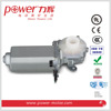 24V DC worm gearmotor for Car Window Lift