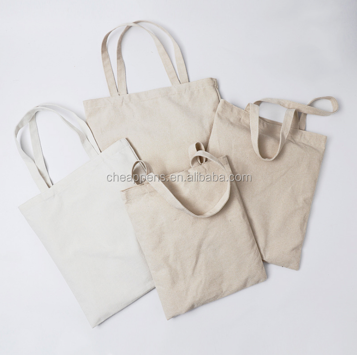 Wholesale multicolor eco-friendly shopping bag,blank plain canvas/cavas tote bag