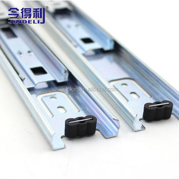 wholesale stainless steel triple extension heavy duty telescopic drawer runner ball bearing soft close drawer slides