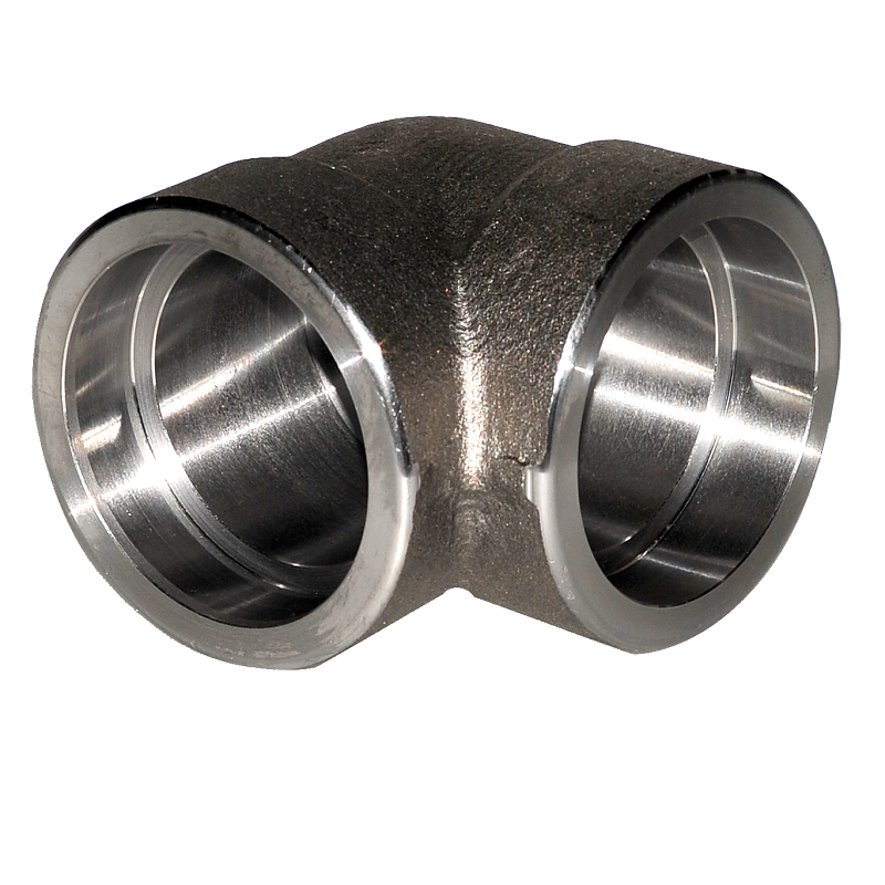 Stainless Steel 304 SW Forged Pipe Fitting 90 Degree Elbow Socket Weld ASME B16.11