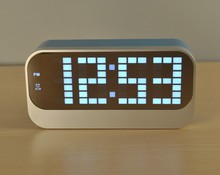 Home Decor LED digital alarm clock With Calendar Thermometer for Children