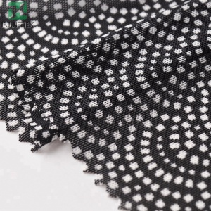Buy fabric from China 80 nylon 20 spandex dress mesh lace fabrics for making woman underwear