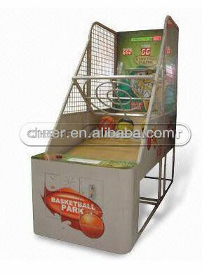 Cheer Amusement children electronic shooting game machine basketball park