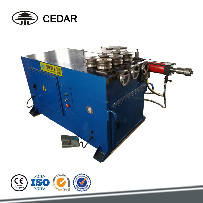 Pipe Bending Machine Tube with 7 Roller for Highway guardrail