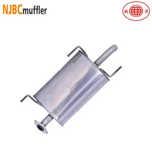 sports car muffler stainless steel high performance mufflers exhaust system parts from factory
