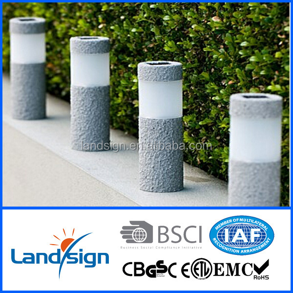 high end solar outdoor decorative lights XLTD-261S led pathway lighting post