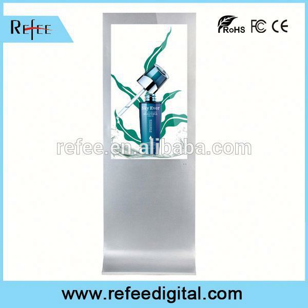 Refee 32/42/55/65 touchscreen multi touch play advertising player top quality factory for mall/store/station
