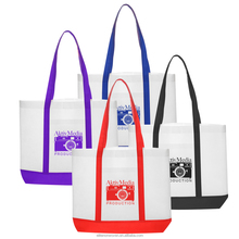 Fashion Custom Logo Printed Foldable PP Non Woven Tote Bag Wholesale