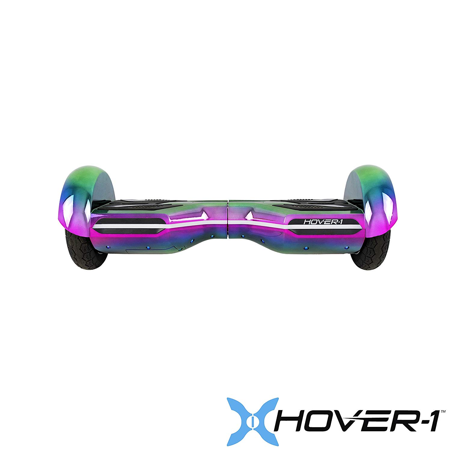 Hover-1 Horizon- UL 2272 Certified- Electric Self Balancing Hoverboard with Bluetooth, LED Lights and App connectivity, Iridescent