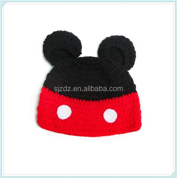 Vêtements et accessoires pour bébé Mignon Bébé Fille Garçon Enfant Hiver Chaud Tricot Crochet Bonnet Beanie Hat