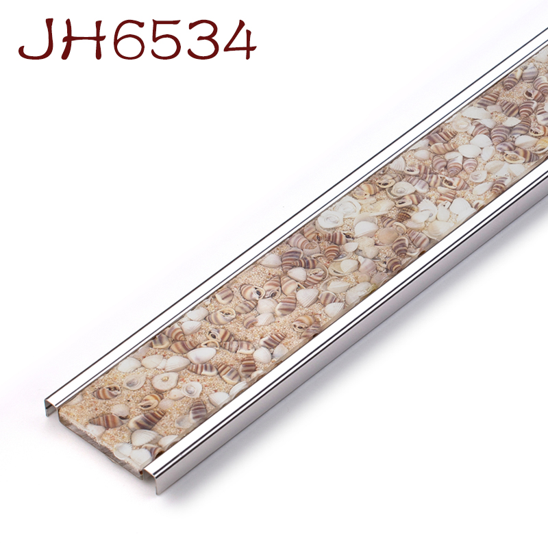 Stair Use Curved Tile Trim Bronze Metal Snap On Edge