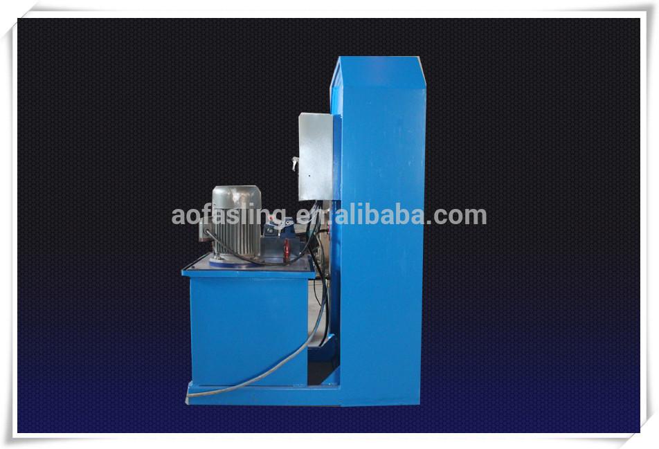 Goedkope 100 t 200 t 1000 t Hydraulische 1-22mm staaldraad sling swaging druk maken machine