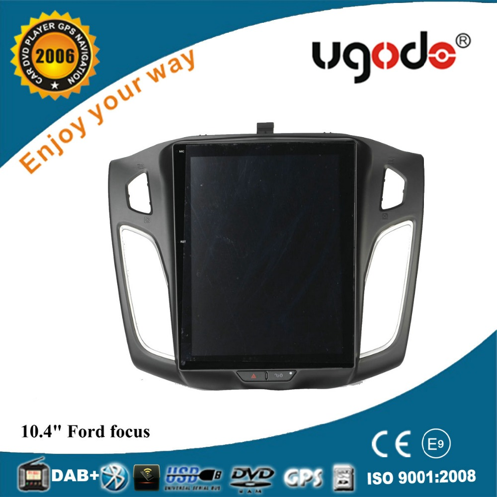 ugode Android 10.4 inch Vertical Screen car radio For Ford Focus 2012