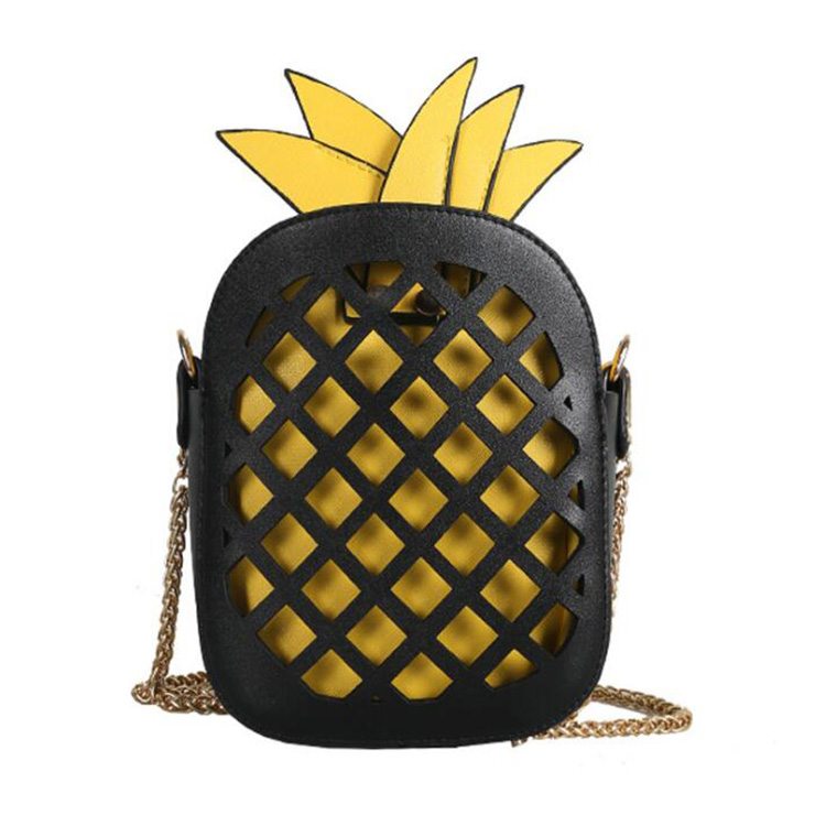 Cute Fashion Girls Ladies pineapple Leather Shoulder Bags Hanbags