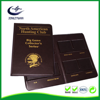 NEW design leather Currency collecting Book coin stock book