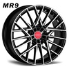 Wheels of car, New fashion staggered alloy wheels for Aftermarket. MR9.