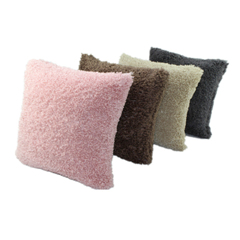 cheap new product pure soft plush faux fur wholesale decorative cushion cover throw pillows for. Black Bedroom Furniture Sets. Home Design Ideas