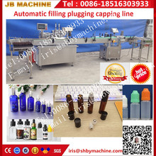 Automatic glass vial bottle rubber stopper filling machine