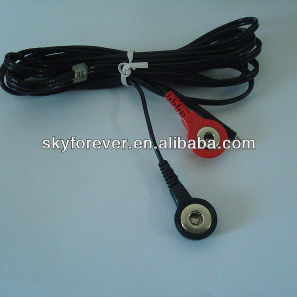 Black Copper Tens Machine Wire,Heating Lead Cable,Eye-button ...