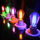 Colorful filament led bulbs 220v e 27 led filament lamp rgb 2w led filament bulb