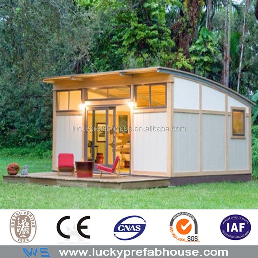 Bajo costo estructura de acero prefabricada contenedor bar - Casas prefabricadas low cost ...