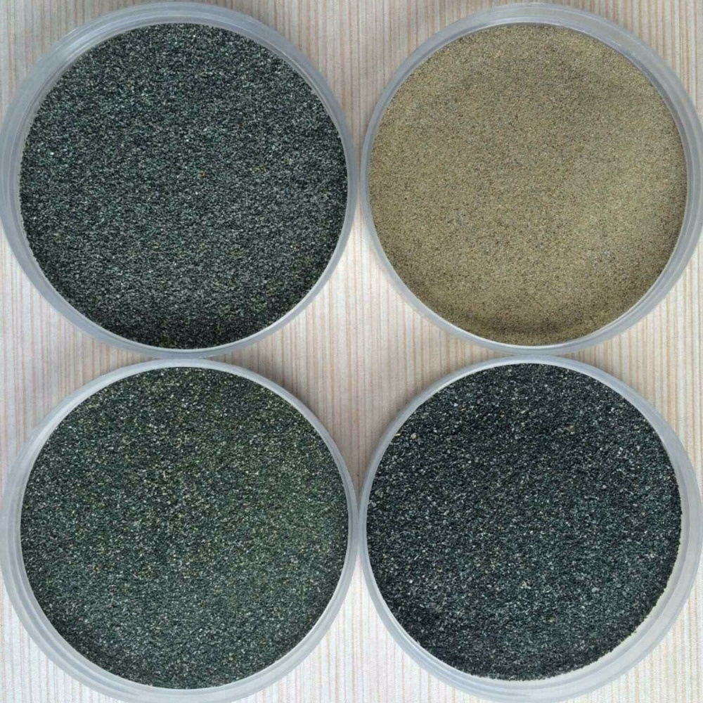 Color sand for Golf Course