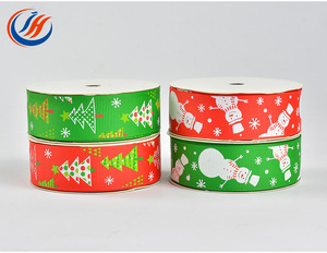 Custom Celebrate Ribbon Merry Christmas Celebrate It Polyester Adhesive Satin Ribbon