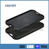 Cast Iron Double Sided Burner Reversible Griddle Grill Cookware