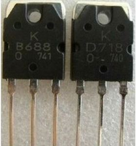The new original authentic 2S B688 D718 audio amplifier on the tube IC matching transistor d718